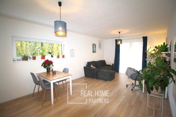 Prodej cihlový byt novostavba 2+kk cca 51 m2 se zahradou 116 m2, Moravské Knínice, Brno - venkov