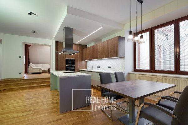 Pronájem, novostavba, byt 3+kk, CP 106 m², Brno- střed, ul. Česká