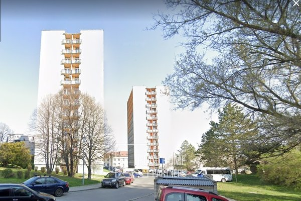 Pronájem, byt 3+1, CP 76 m², klimatizace, lodžie, šatna, Brno -Štýřice