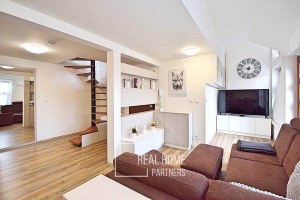Prodej atypického bytu 3+kk, 105m² - Brno-Štýřice