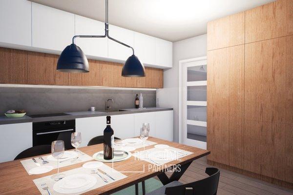 Prodej cihlový byt 1+1 novostavba 43 m2, OV, s terasou 5,9 m2, Brno - Řečkovice, Mokrá Hora