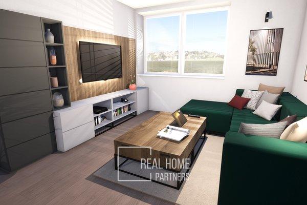 Prodej cihlový byt 3+KK novostavba 94 m2, OV, s 2x balkóny, Brno - Řečkovice, Mokrá Hora