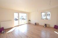 Prodej novostavba cihlový byt 3+kk s terasou, zahradou, parkovací stání, Rosice u Brna, Brno - venkov