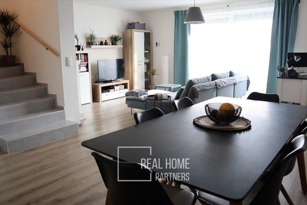 Prodej novostavba rodinný dům 4+kk, terasa, zahrada, 2 x parkovací stání, Rosice u Brna