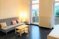 Pronájem, byt 1+kk, balkon,  CP 40 m2, Brno - střed