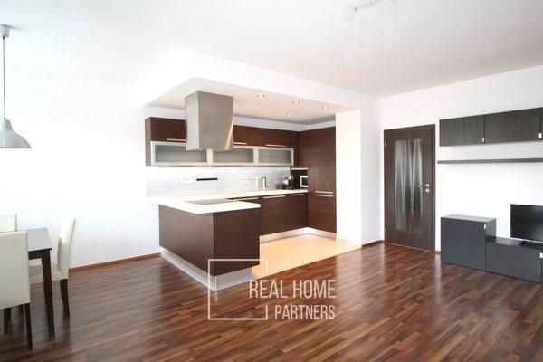 Pronájem novostavba cihlový byt 3+kk 85 m² s balkónem, garážovým stáním, Brno - Lesná
