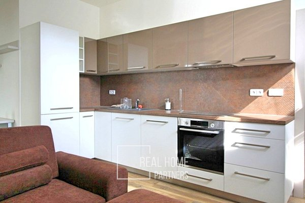 Pronájem bytu 2+kk s terasou, 52 m2, Štýřice - Červený Kopec