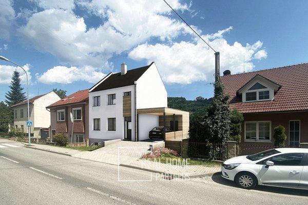 Prodej rodinný dům 4+kk 190 m2 s 2x balkóny, zahradou 336 m2, Brno - Líšeň