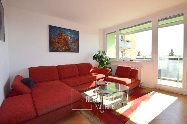 Prodej byt 3+1 75 m2 s balkónem, sklepem, Gruzínská, Brno - Bohunice
