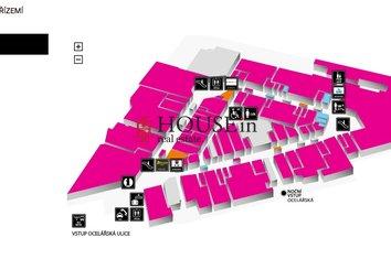 mapa přízemí - harfa