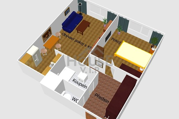 Prodej, Byty 2+kk, 45m² - Praha - Horní Počernice