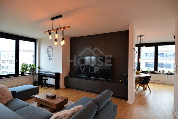 Prodej bytu 4+kk s terasou (123 m²) Praha 8 - Libeň