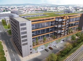 Pronájem kancelářských prostor  810 m² - Brno - Nová Zbrojovka