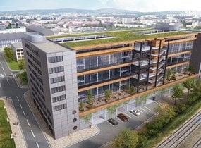 Pronájem kancelářských prostor  2900 m² - Brno - Nová Zbrojovka