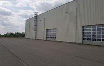Pronájem, Výroba, 5200 m² hala na pozemku 30 000 m² - skladovací nebo výrobní zateplená hala Brno