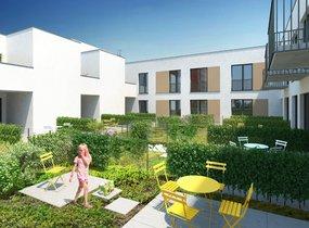 Prodej, Byty 2+kk, 51,1 m2 s terasou 42,1 m2, Brno- Štýřice