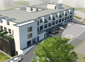 Prodej, Byty 1+kk s terasou, 57,41 m², Brno- Štýřice