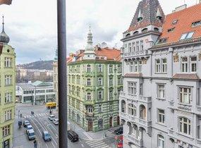 Pronájem bytu 2+kk, 69,70m² s terasou 3,40m2, Praha - Nové Město, ul. Myslíkova