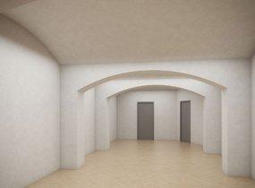 Pronájem obchodního prostoru  o celkové vel. 270 m², Praha - Nové Město, ul. Na Zderaze