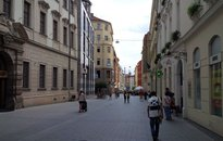 Obchodní prostory na pěší zóně