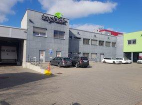 Pronájem skladovacího, výrobního a administrativního areálu 3873 m2 Brno