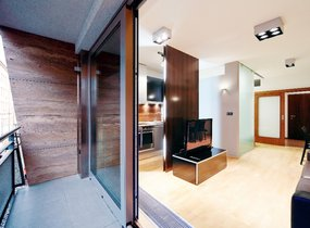 Pronájem, Byty 1+kk, 33,7 m2 s balkonem