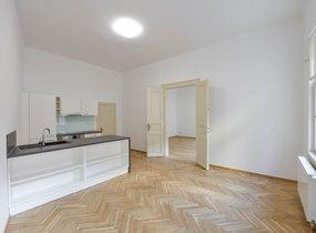Pronájem bytu 1+kk o vel. 46,60 m² , Praha - Nové Město, ul. Na Struze