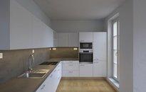 Pronájem bytu v novostavbě vel. 2+kk, 52m² s balkonem a parkováním,Praha - Košíře, ul. Musílkova