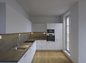 Pronájem bytu 2+kk v novostavbě, 47,6m² s terasou 11,6m2 - Praha - Košíře,ul. Musilkova