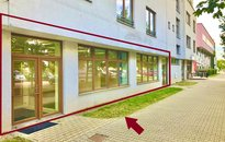 Pronájem nebytových prostor 133,68m² - Líšeň, ul. Jírova