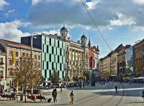 Brno střed ilustrativní foto nám Svobody 2