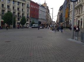Brno střed ilustrativní foto nám Svobody