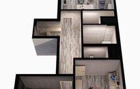 Prodej bytu 3+kk, 81m², lodžie a garážové stání , Praha - Karlín, Rohanské nábřeží,ul. U mlýnského kanálu