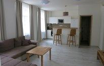 Apartmán na pěší zóně 58 m2