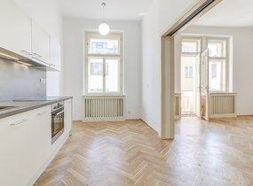 Pronájem hezkého bytu 2+1,73m²  Praha - Nové Město, Na Zderaze