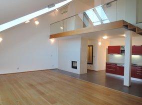 Prodej mezonetového bytu v OV, 4+kk 186m2 s terasou 17m2, Praha 2