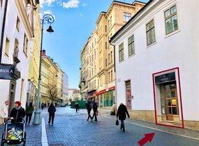 Pronájem nebytových prostor 44 m²  Brno-střed