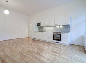 Pronájem bytu 3+kk, 77,20m² s balkonem, Praha - Smíchov, ul. Kotevní