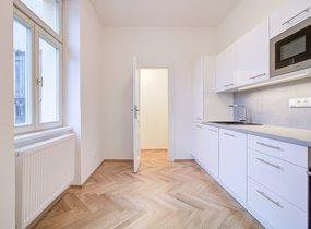 Pronájem bytu 3+kk, 102,10m² s balkonem 3,50m2, Praha - Smíchov, ul. Kotevní