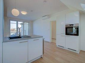 Pronájem byt  4+kk, 98m² s terasou  Praha - Smíchov, ul. Svornosti