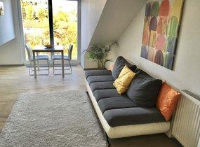 Pronájem bytu 2+kk o velikosti 53,4 m2 u metra Dejvická v Praze 6