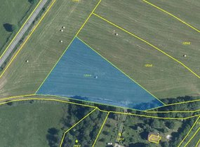 Prodej pozemků - orná půda, o vel. 4316m² , v obci Jílové u Prahy