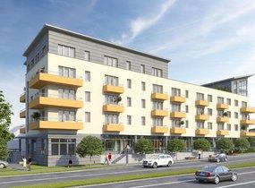 Prodej, Byty 2+kk, 51,7 m2 s terasou 12 m2 a balkonem 3,4 m2, Brno - Židenice