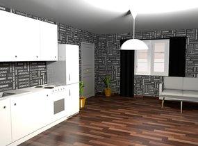 Pronájem bytu 1+kk v centru Brna  (27 - 31 m²)