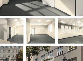 Pronájem komerčních prostorů, o vel. 470m² - Praha - Nové Město, ul. Mlynářská