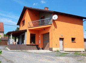 Prodej, 4 kanceláře v RD (104m2) a pozemek (1691m2), Ostrava - Heřmanice