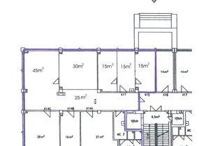 plánek 5.NP, 230 m2