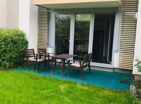 Pronájem hezkého bytu 3+kk, o vel. 70m2, vlastní zahrada a garáž, Praha - Hlubočepy, ul. Chlupáčova