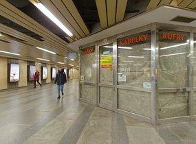 Obchod - metro Můstek, 35 m2