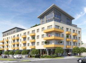 Prodej, Byty 2+kk, 46,3 m2 s terasami 14,5 m2, Brno - Židenice